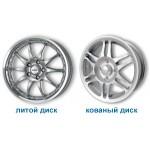 Как отличить кованые диски от литых?